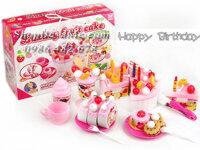 Bộ đồ chơi bánh sinh nhật cho bé Luxury Fruit Cake