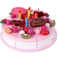 Bộ đồ chơi bánh sinh nhật dâu tây Mother Garden 75A