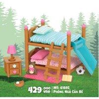 Bộ đồ chơi búp bê Li'l Woodzeez mô hình Phòng ngủ của bé