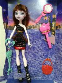 Bộ đồ chơi búp bê Monster High quái vật Elf MH054