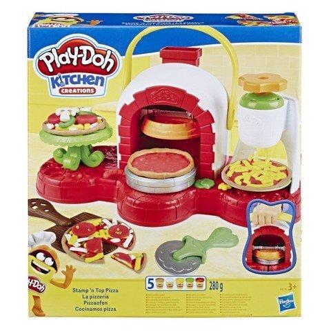 Bộ đồ chơi đất nặn lò nướng bánh Pizza Play-doh E4576