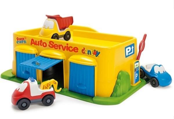 Bộ đồ chơi Garage ô tô vàng Dantoy Dt7530