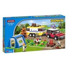 Bộ đồ chơi ghép hình Oxford TOWN SERIES(CAMPING) ST33314