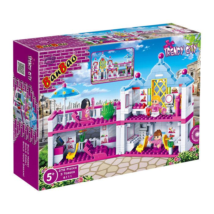 Bộ đồ chơi lắp ráp BanBao - Làm đẹp cùng công chúa Banbao 6111