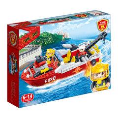 Bộ đồ chơi lắp ráp BanBao - Tàu cứu hỏa 7105