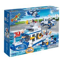 Bộ đồ chơi lắp ráp BanBao - Cứu hộ đại dương 8342