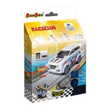Bộ đồ chơi lắp ráp BanBao - Xe đua đẩy trớn 8629