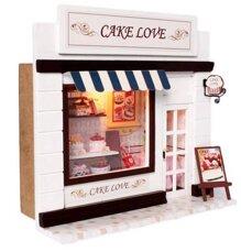 Bộ đồ chơi lắp ráp quán bánh ngọt tình yêu 13504