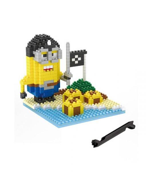 Bộ đồ chơi lego xếp hình minions - tên cướp biển