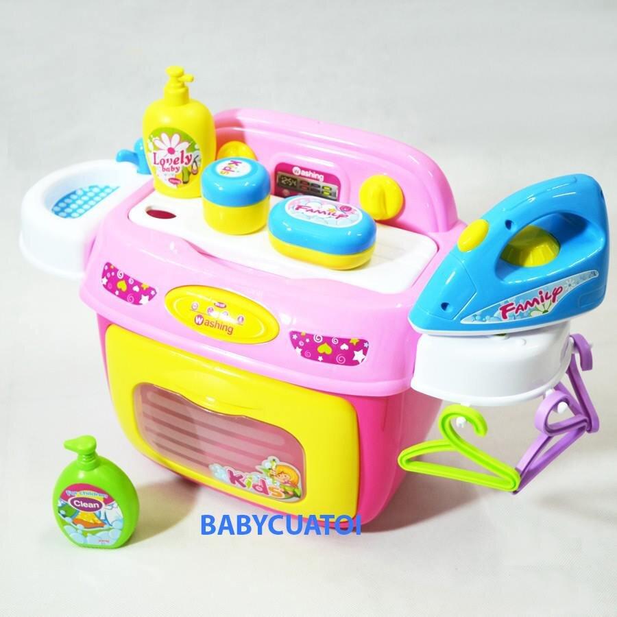 Bộ đồ chơi máy giặt bàn là BBT Global 008-92A