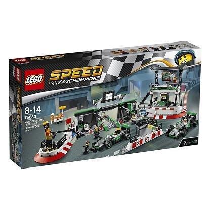Bộ đồ chơi mô hình Lego Speed Champions - đội xe Mercedes Amg Petronas công thức một 75883 (941 mảnh ghép)