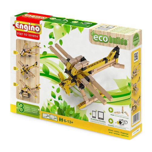 Bộ đồ chơi mô hình máy bay tàng hình Engino ECO EB12