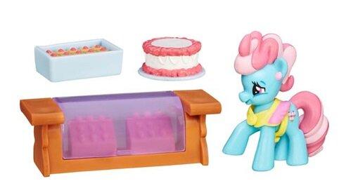 Bộ Đồ Chơi My Little Pony Fim - Tiệm Bánh Của Bà Dazzle Cake B5388/B3596