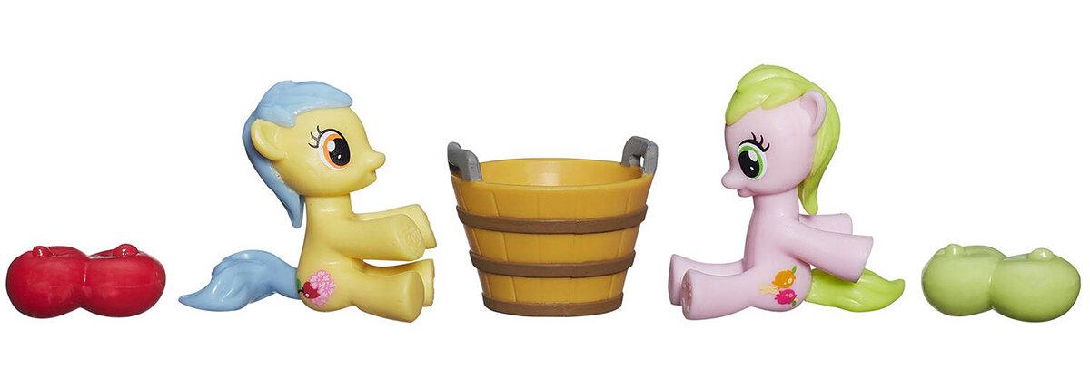 Bộ Đồ Chơi My Little Pony St Ngựa Thiên Thần Sweet Tooth & Apple Flora B2209/B2072