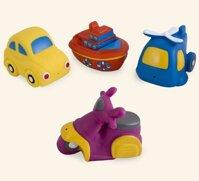 Bộ đồ chơi nhà tắm hình phương tiện giao thông Canpol 2/996