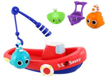 Bộ đồ chơi tắm thuyền câu cá Sassy