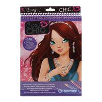 Bộ đồ chơi thiết kế trang sức Crazy Chic Sparkling Jewels Clementoni trên 7 tuổi