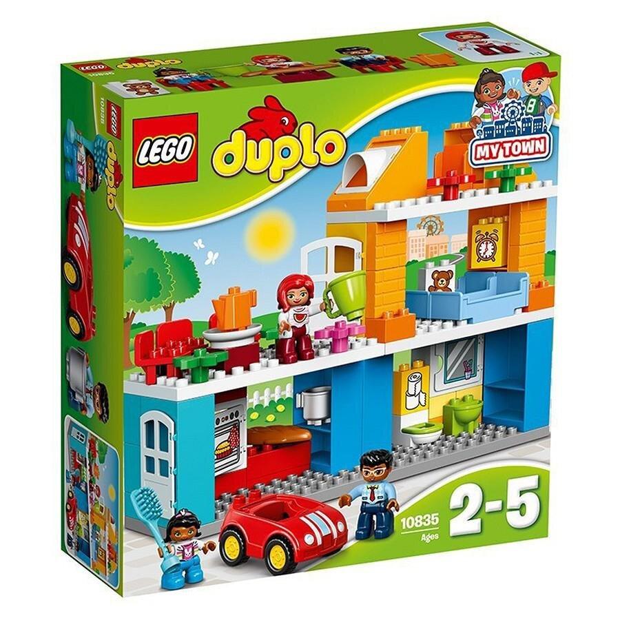 Bộ đồ chơi xếp hình LEGO DUPLO Family House 10835