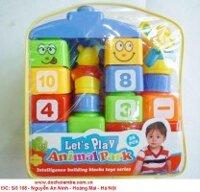 Bộ đồ chơi xếp hình thông minh 6601