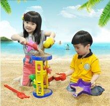Bộ đồ chơi xúc cát có guồng quay