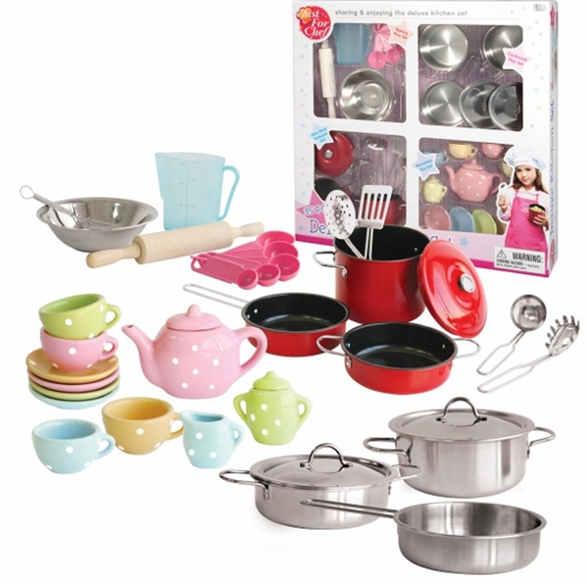 Bộ đồ dùng nhà bếp cao cấp Just for chef CH205145 - 35 món