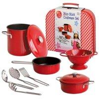 Bộ đồ dùng nhà bếp Just For Chef 10 món CH20323C màu đỏ