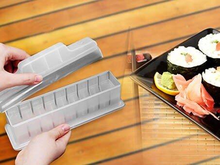 Bộ dụng cụ làm sushi chất liệu nhựa cao cấp