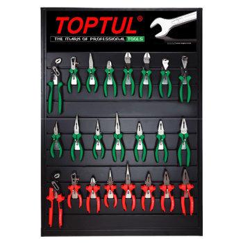 Bộ dụng cụ và bảng trưng bày 23 món Toptul GBBX2301