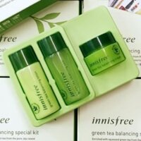 Bộ dưỡng da trà xanh mini Innisfree Green Tea Balancing Special Kit