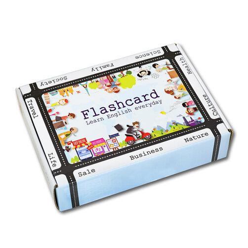Bộ Flashcard Tiếng Anh TOEIC Basic 03AD (Standard - Kèm DVD)
