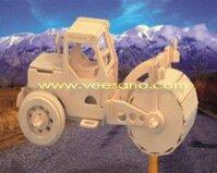 Bộ ghép hình 3D Bác xe lu Veesano VB-04