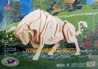 Bộ ghép hình 3D Bò rừng Veesano VB02