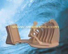 Bộ ghép hình 3D cắm bút - Môn lướt sóng Veesano VB-02
