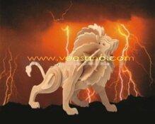 Bộ ghép hình 3D sư tử Veesano VB-04