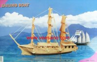 Bộ ghép hình 3D thuyền buồm Veesano VB08