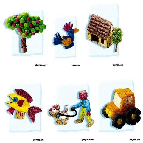 Bộ ghép hình sáng tạo 3D Playmais PM160027 - 1000 miếng