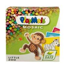 Bộ ghép hình sáng tạo sở thú Playmais PM160180