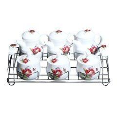 Bộ gia vị 6 món bằng sứ Ceramics Porcelain E524-117