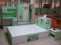 Bộ giường tủ bàn học nhựa Đài Loan GT02