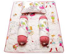 Bộ gối và tấm trải cotton Kid Jamion KKCT04 70 x 90 cm