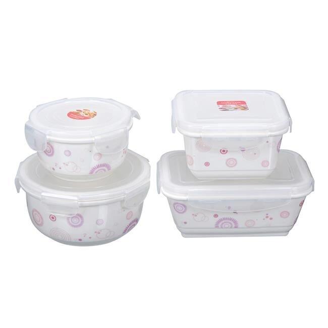 Bộ hộp bảo quản thực phẩm Kiến Lâm (Lucky Lock ) CE.13-001