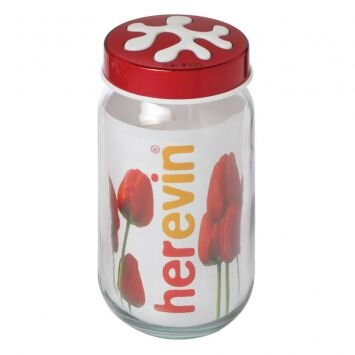 Bộ Hũ có nắp Daphne Herevin 135377 - 1.0 lit