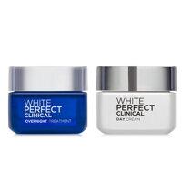 Bộ kem dưỡng trắng da, giảm thâm nám ngày và đêm L'Oreal White Perfect Clinical 50ml