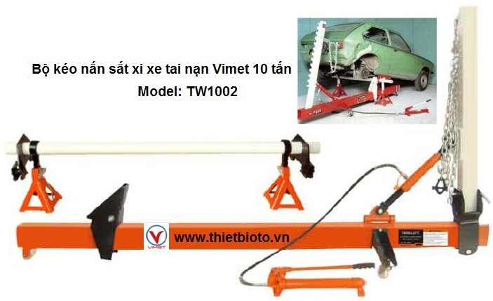 Bộ kéo nắn sắt xi xe tai nạn Vimet TW1002