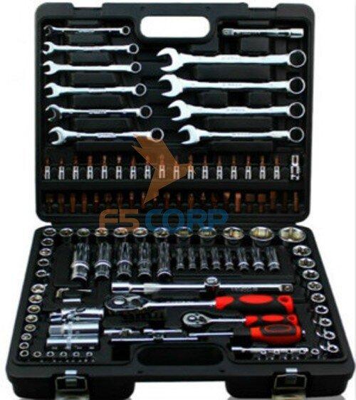Bộ khẩu tay vặn tổng hợp 130 chi tiết GT12130