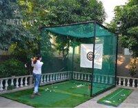 Bộ khung và lưới tập Swing Golf PGM LXW001