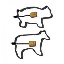 Bộ khuôn bánh hình lợn/bò NORPRO