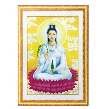 Bộ làm tranh đính đá 5D Quan thế âm bồ tát Minh Hiền Y179