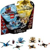 Bộ lắp ghép Bông dụ lốc xoáy Nya và Wu Lego Ninjago 70663