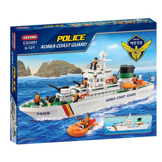 Bộ lắp ghép Coast Guard Vessel CG3491